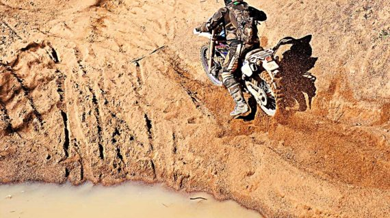 CAMBODIA-ENDURO-RIDE-SAND